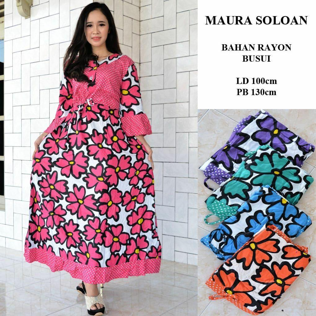 Longdress Maura Dress Murah L Baju Tidur L Katun Jepangl Baju Murah Wanita L Piyama L