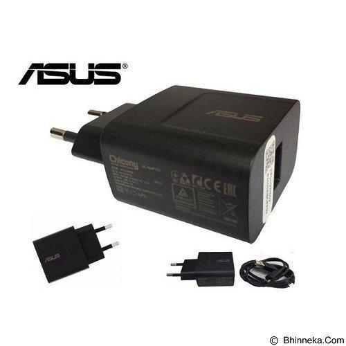 Asus Zenfone Travel Charger 5V 2A Fast Charging Original Hitam Gratis Holder Gurita .