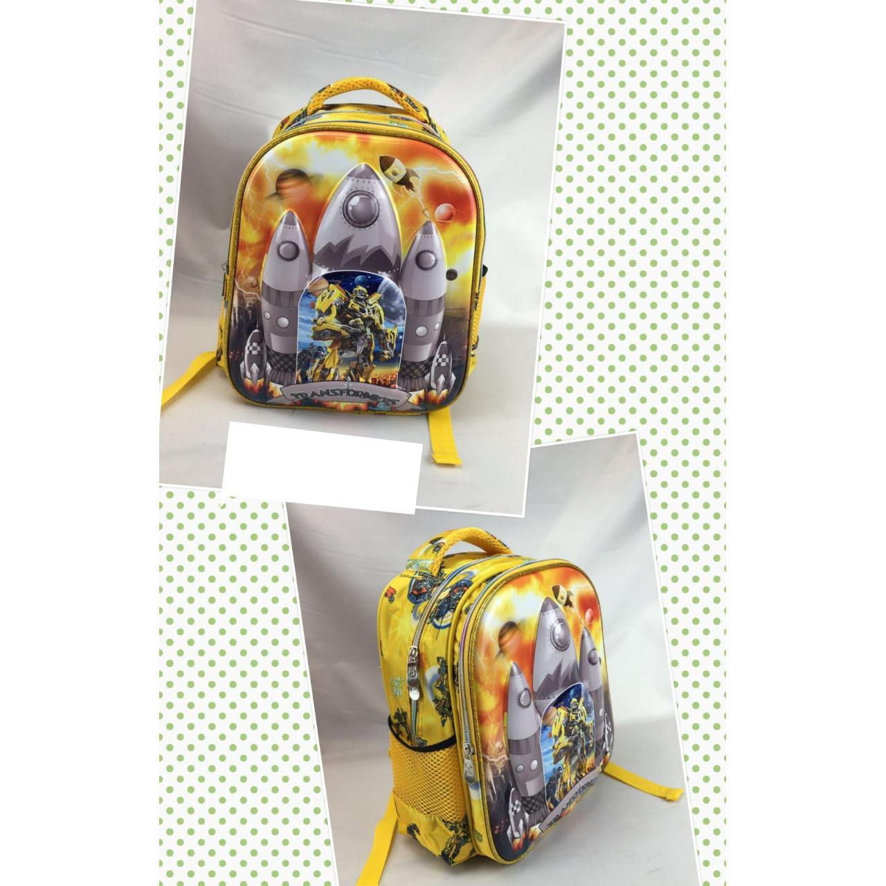 Promo Onlan Transformers 6D Timbul Anti Gores Tas Ransel Tk New Arrival Import Yellow Murah