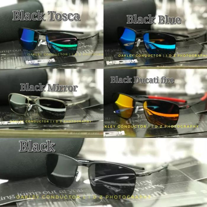Kacamata Oakley Conductor 8 Black Kacamata Polarized Fashion Pria - ready  stock f9d24892ae