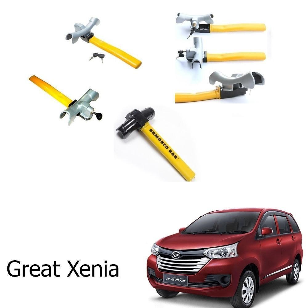 Kunci Stir Pengaman Mobil Mobil Great Xenia T-Armored Bar