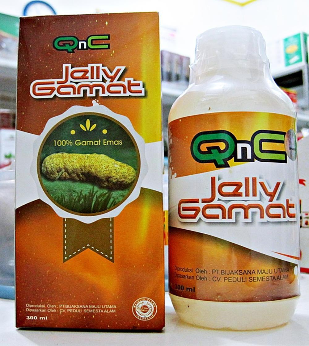 Qnc Jeli Jelly Gamat Agen Kota Bekasi Resmi di lapak Agen Herbal Bekasi acepsuhermanherbalbekasi