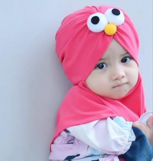 Fitur Baby Talk Club Kerudung Anak Bayi Eyes Jilbab Anak Bayi Jilbab