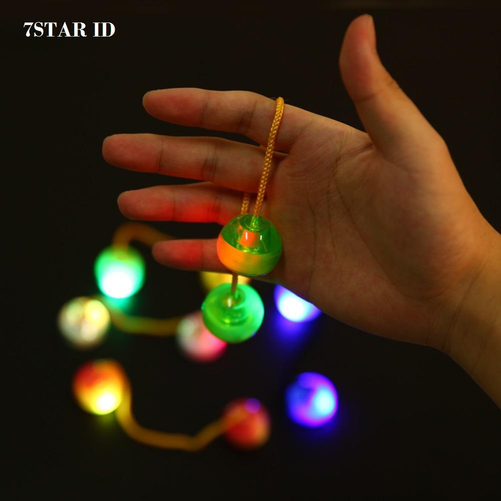 Cek Harga Baru Fidget Spinner Glow In The Dark Trend Yoyo Mainan Aimons With Led Focus Games Toys Tangan Random Colour 7star Lampu Finger Thumb Chuks Skill
