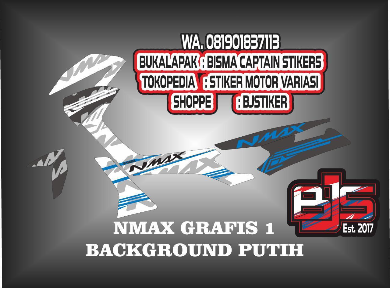 Kelebihan Stiker Motor Nmax Batman V3 Grade S Terkini Daftar Harga Rompi Monster Energi Striping List Grafis Untuk Background Putih