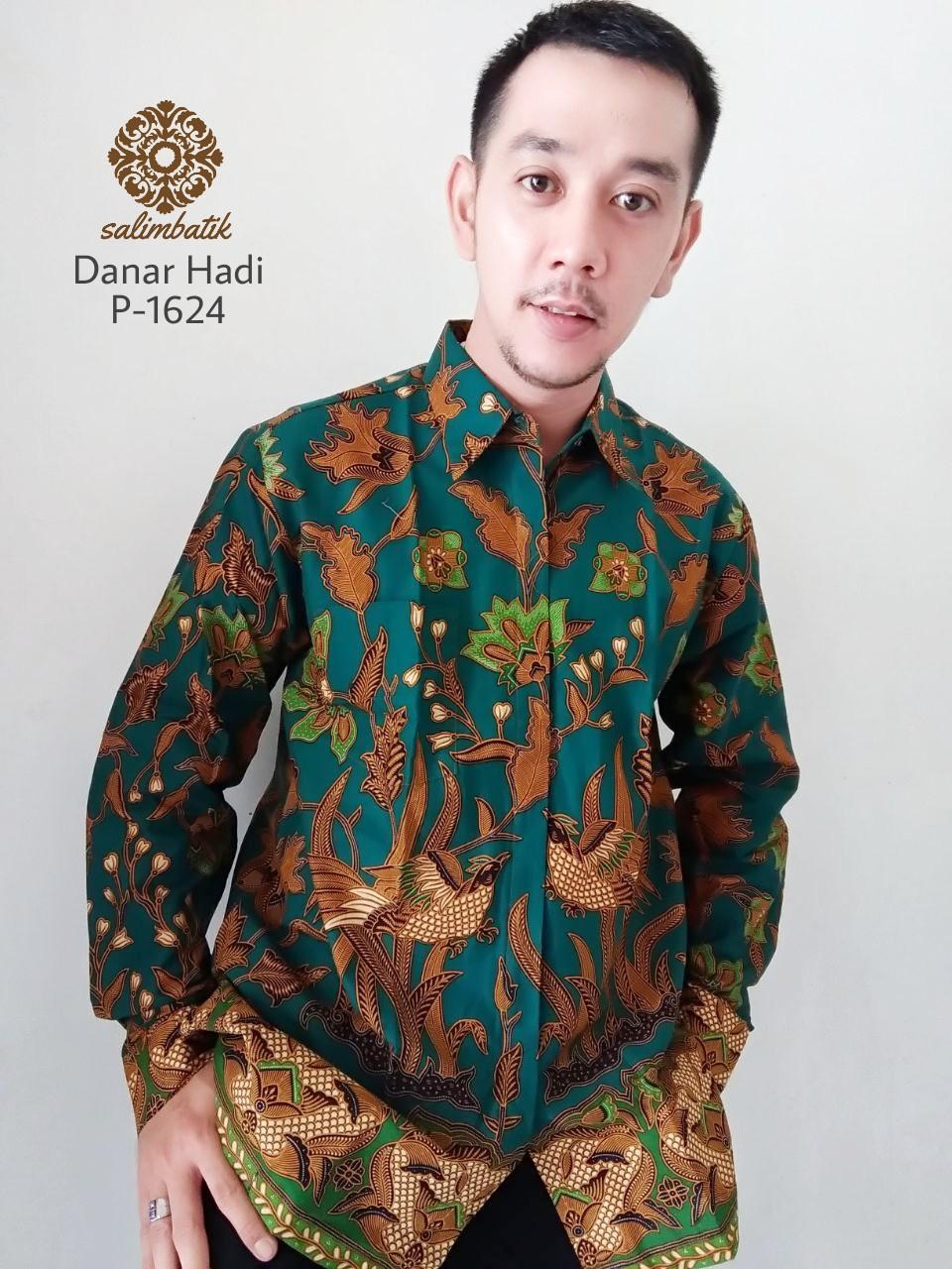 Danar Hadi Asli Batik Casual Reguler Fit Motif 0375 - Katalog Harga ... 7f0e890199