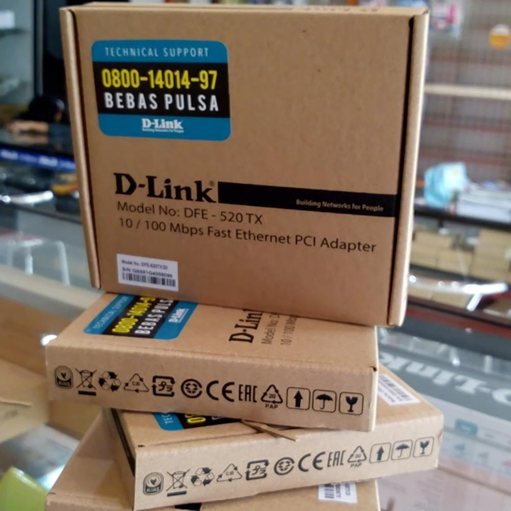 Review Toko Lan Card Pci 100Mbps Dlink Online