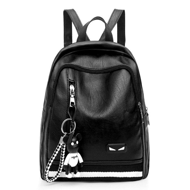 Harga Atdiva Ikon Backpack Tas Ransel Wanita Korea Stylish N Sporty Hitam Paling Murah