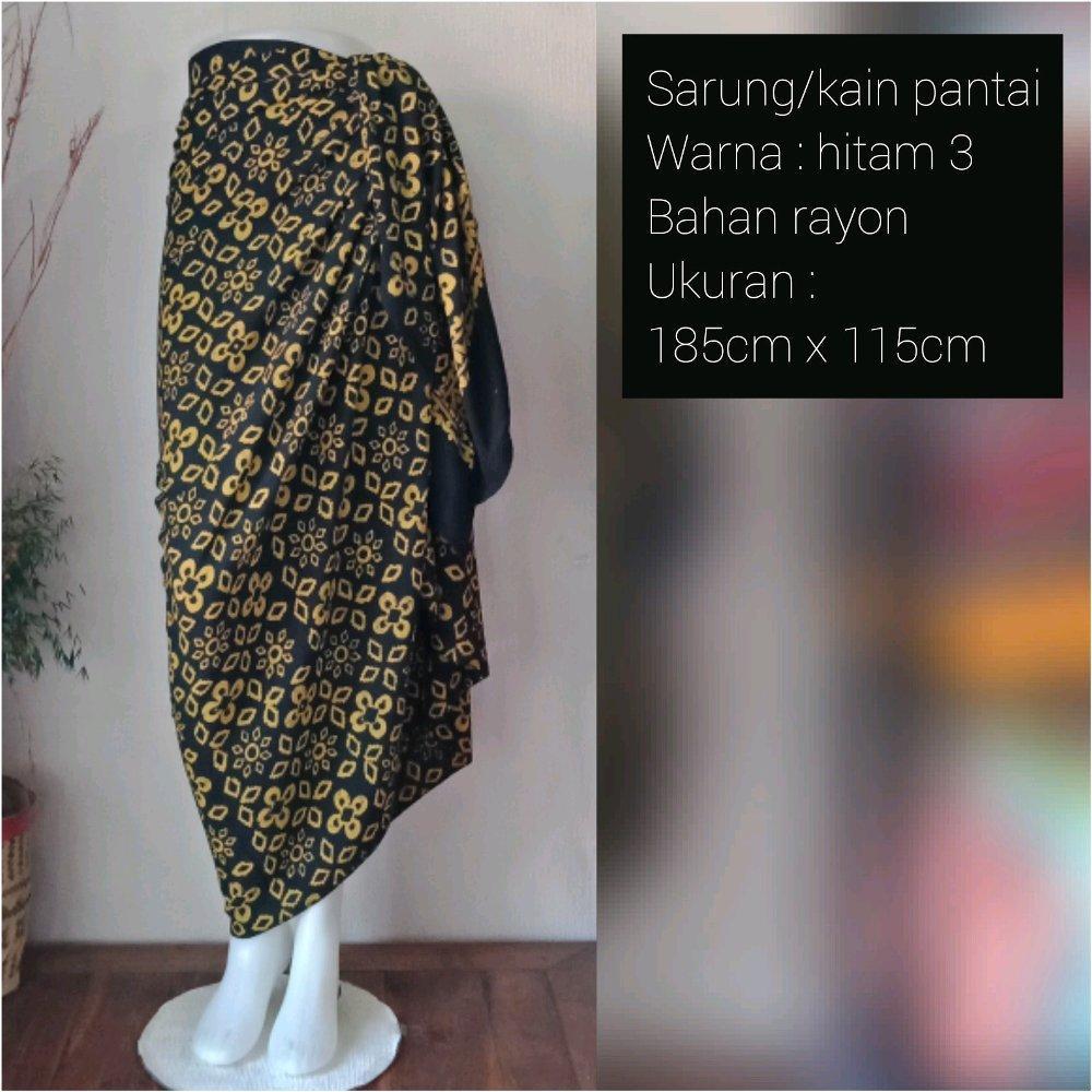 kain lilit Sarung/Kain Pantai Bali Uj 200x115cm