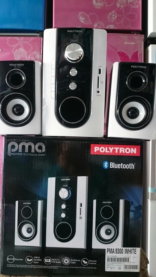 Detail Gambar Referensi Speaker Aktif SPEAKER POLYTRON PMA 9300 Terbaru