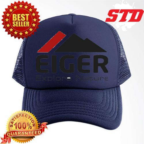 Topi Trucker Eiger Hitam - Smart4K Design Ideas dfc3fb4943