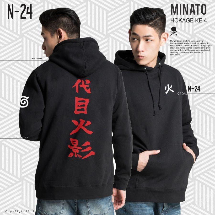 Jas Premium Jaket Anime Naruto Got Of Death Hokage 3 Hitam Harga Fantasia T Shirt Pria Itachi Ampamp Sasuke Uchiha Minato Black Trendy N 24