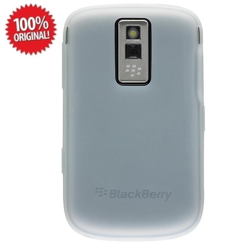 Blackberry Original Silicon Case Blackberry Bold 9000 - Putih