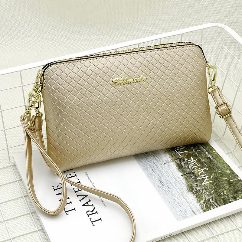 Tas tangan Ibu tas kecil perempuan 2018 model baru modis minimalis model selempang tali bahu tunggal