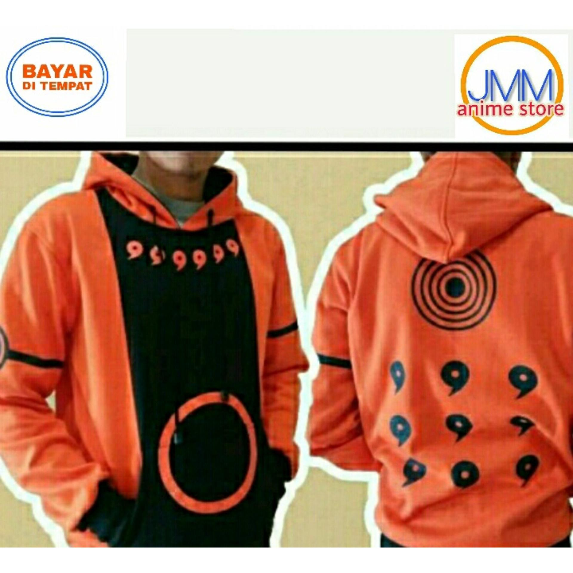 Jual Jaket Anime Naruto Kyuubi Mode Hoodie Best Seller Import