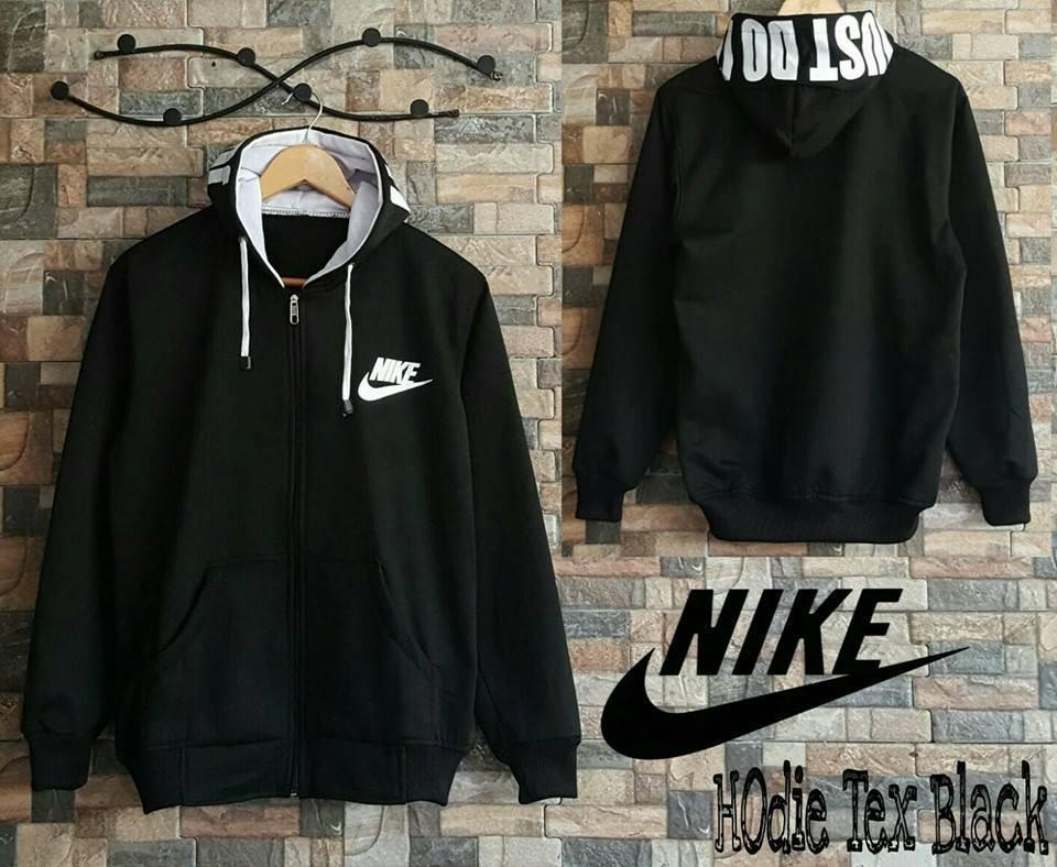 NIKE HOODIE TEXT ||| nouska shop ||| jaket sweater baju atasan blouse
