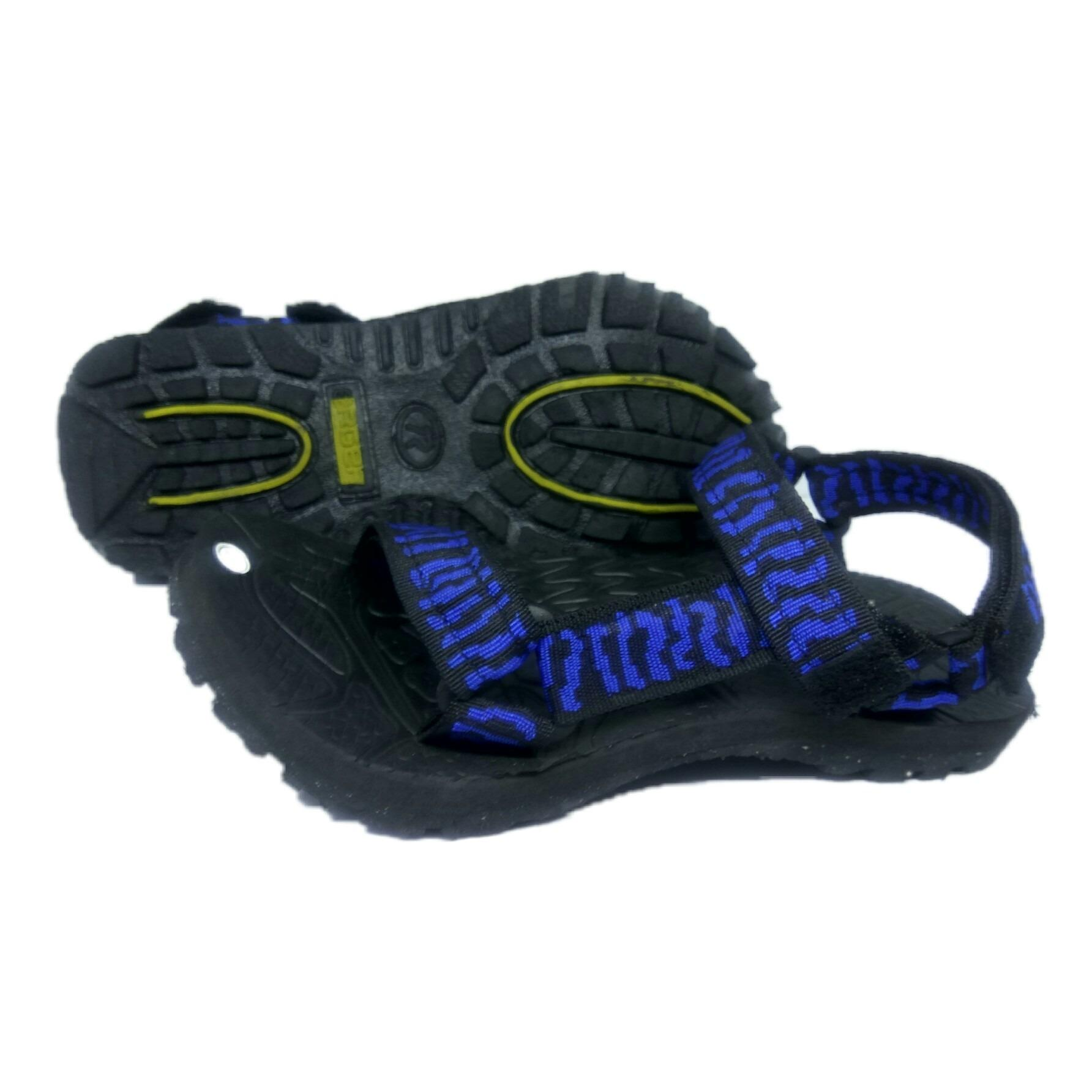 arsy collections sandal gunung pria selop - hitam