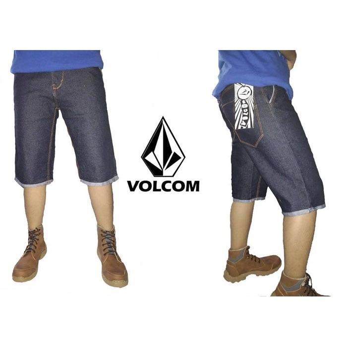 celana jeans pendek pria VOLCOM SIZE- 27