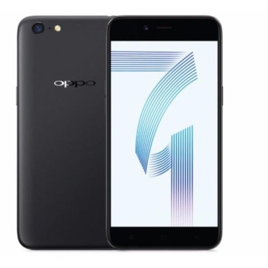 Oppo A71 2GB/16GB Black – Smartphone Game Speedier (Garansi Resmi Oppo Indonesia, Cicilan 12 Bulan Kartu Kredit, Free Ongkir)