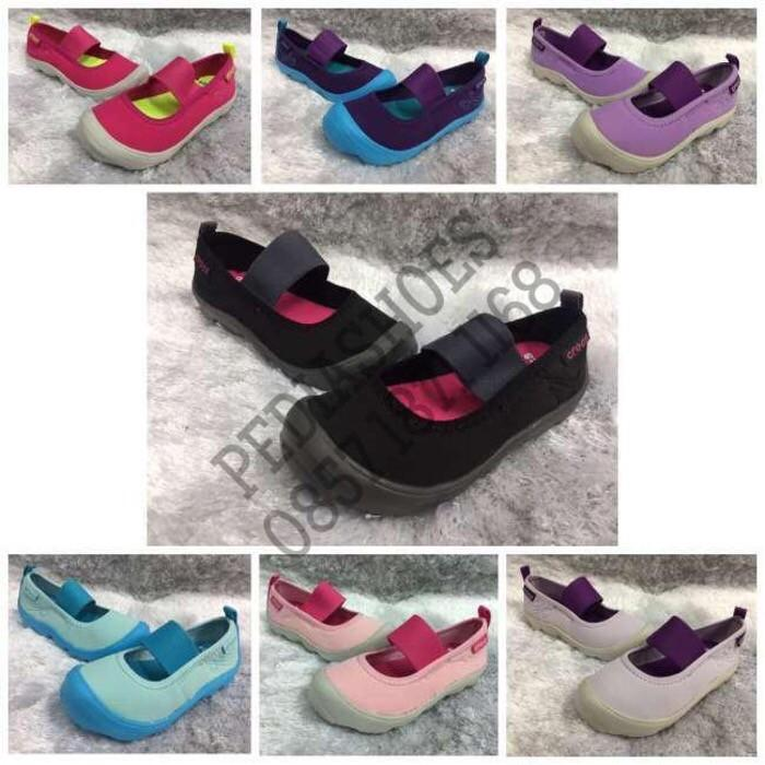 Sepatu Anak Crocs Duet Busy Day Mary Jane Original (Grosir Dan Eceran) - Fuyxxw