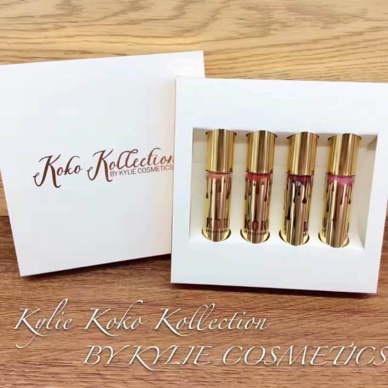 NEW LIPSTIK KYLE KOKO KOLLECTION HARGA 1BOX ISI 4PCS