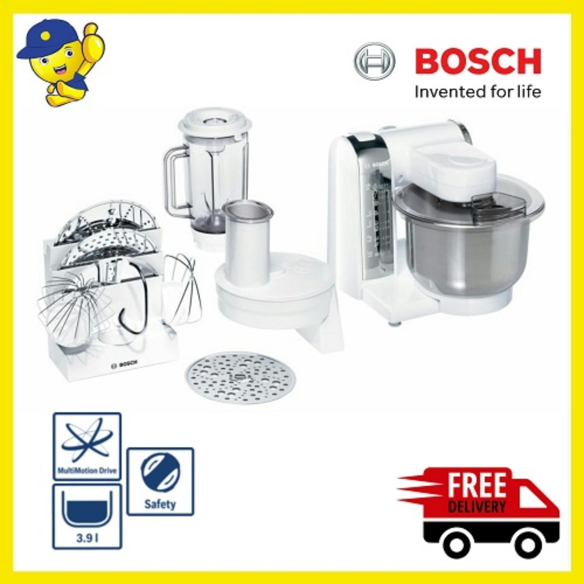 Bosch MUM48CR1 Kitchen Machine Mixer - Putih - Free Ongkir JABODETABEK
