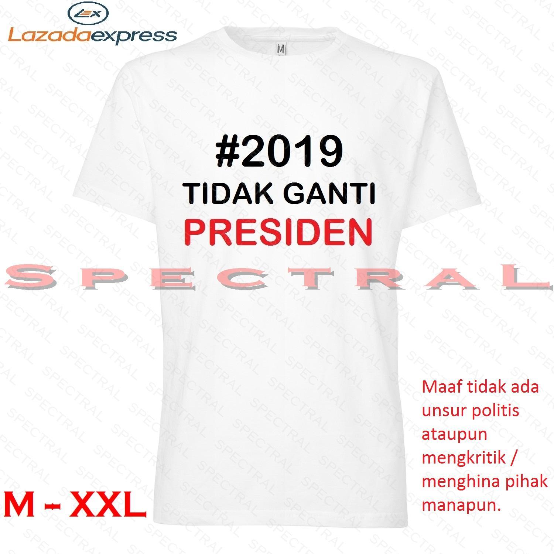 Penawaran Diskon Terbaik Spectral 2019 Tidak Ganti Presiden M L Kaos Distro Xl Xxl Fashion T Shirt
