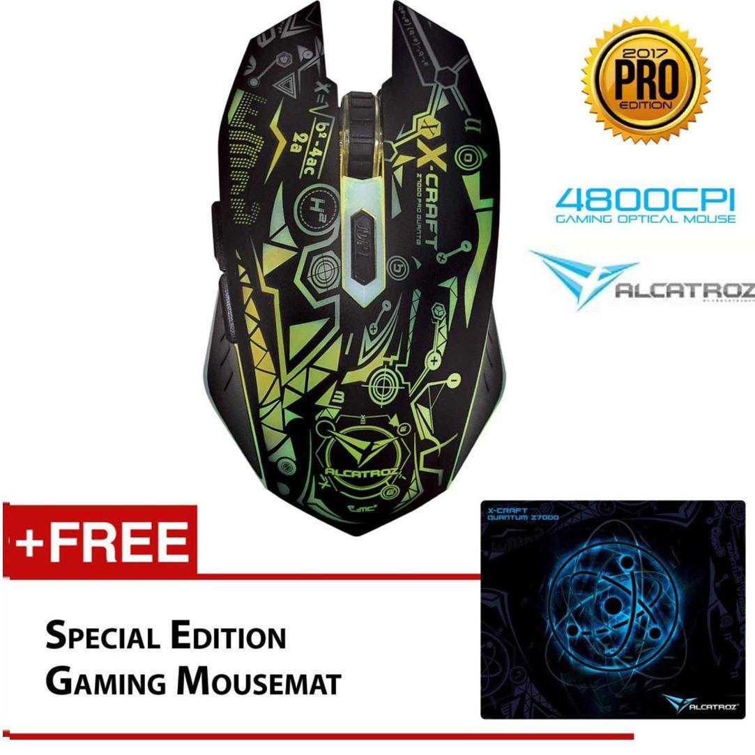 Beli Alcatroz X Craft Quantum Pro Z7000 Macro Programing Mouse Pad Di Dki Jakarta
