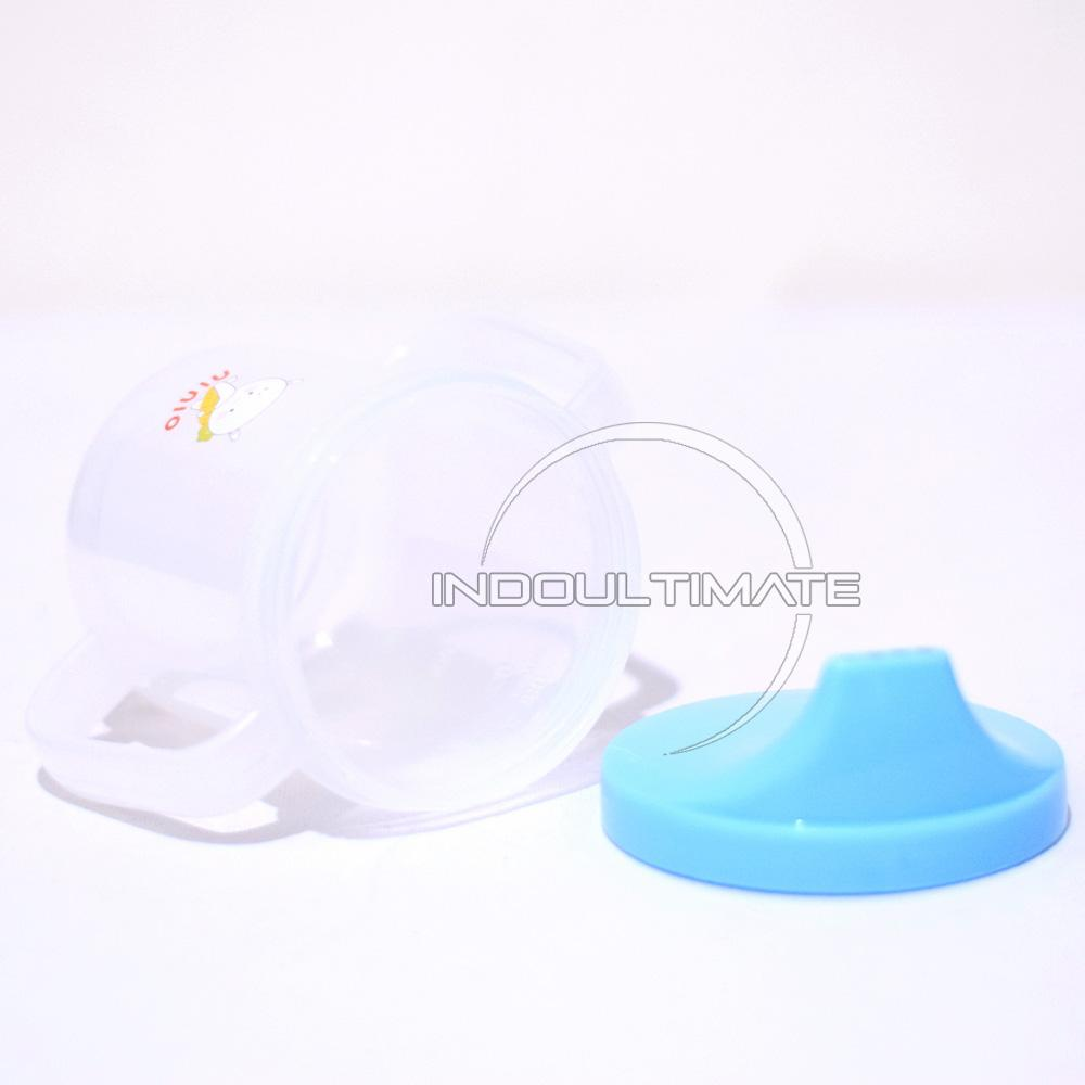 Features Nino Botol Training Cup Minum Bayi Dot With Straw And Handle Ninio