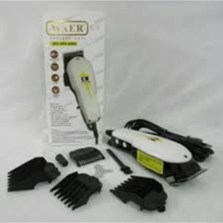 Alat Potong Cukur Rambut WAER 8808 Elektrik Clipper-Profesional Hair  Clipper - 2 280d1b513b