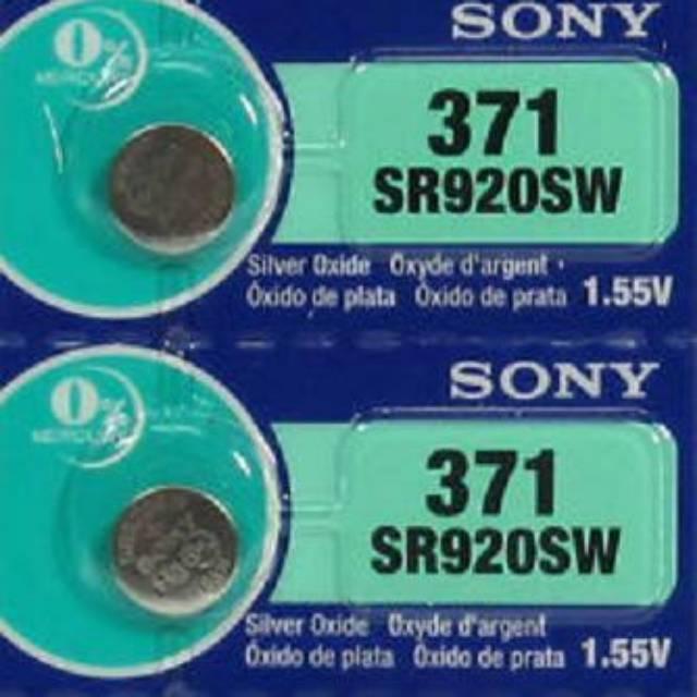 Batre Sony ORIGINAL 371/920 CHRONOGRAPH