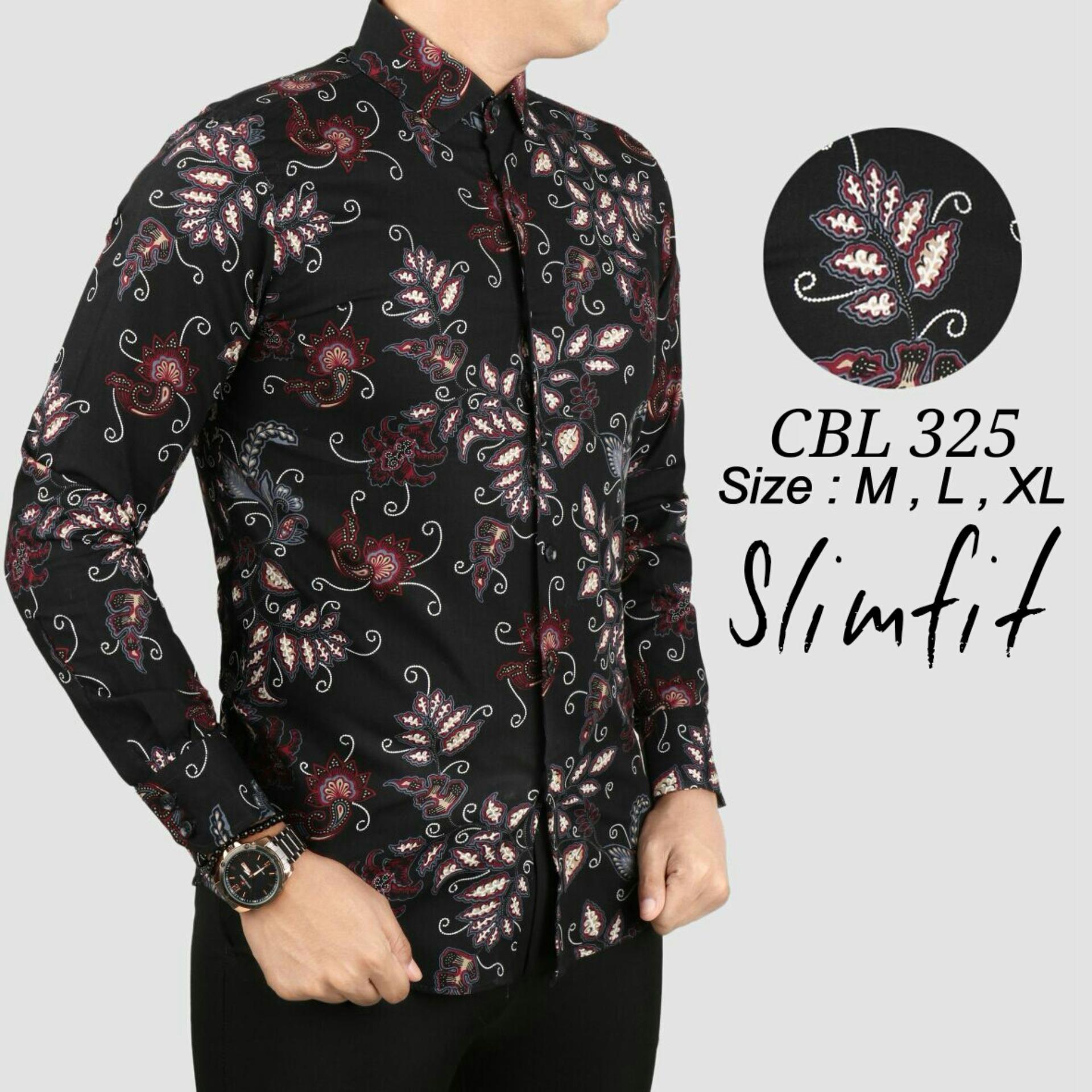 Kemeja Slimfit CBL 182 - Exclusive Premium Elegan