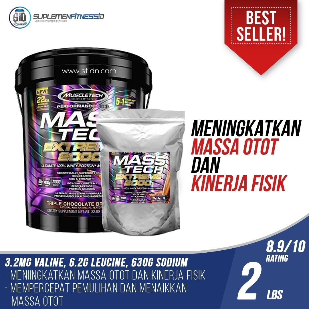 Review Muscletech Mass Tech 2 Lb Eceran Extreme Dki Jakarta