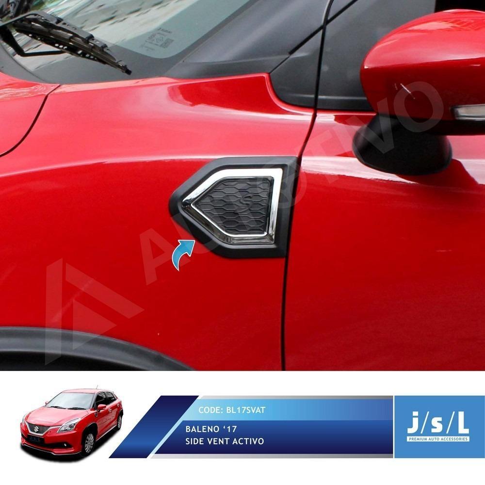 JSL Side Vent Baleno Hatchback 2017 Model Activo