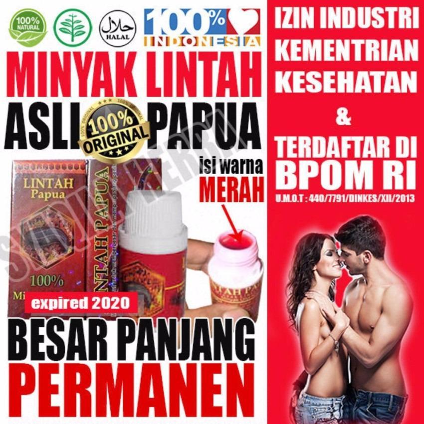 Spesifikasi Paling Laris Obat Herbal Oles Minyak Papua Lintah Merah Hitam 60Ml Asli Original Terbaik