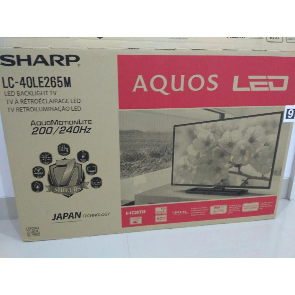 Sharp AQUOS LC-40LE265M TV LED [40 Inch]