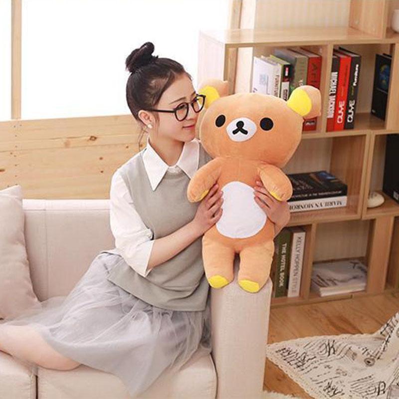 60cm Cute Stuffed Animal San-x rilakkuma Bear Plush Toy Doll Birthday Gift - intl ...