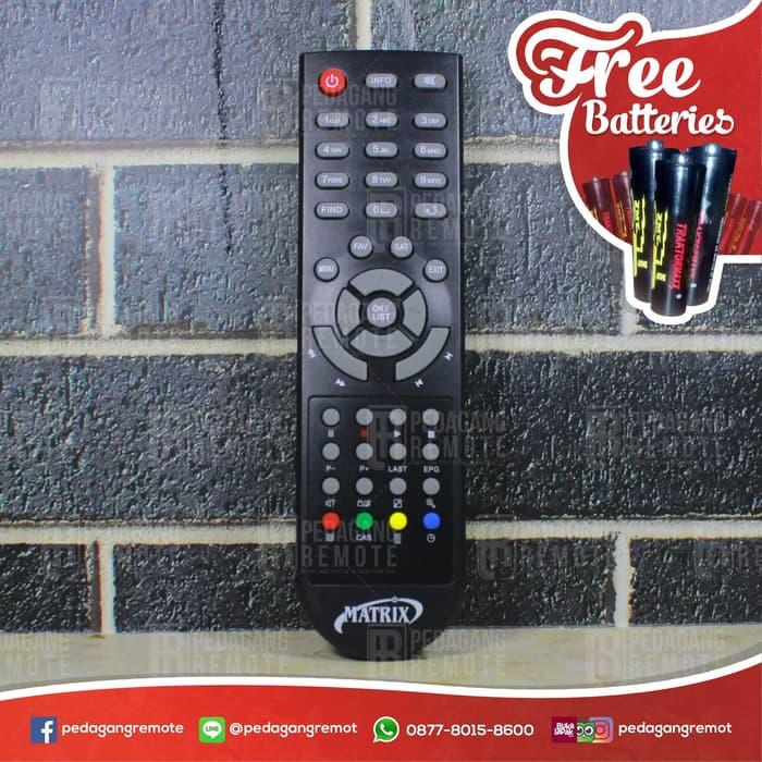 Best Seller!! Remot Remote Receiver Tv Parabola Matrix Hd Ori / Original - ready stock