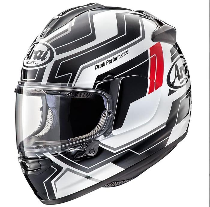 Arai Vector-X Place Helm Full Face - White