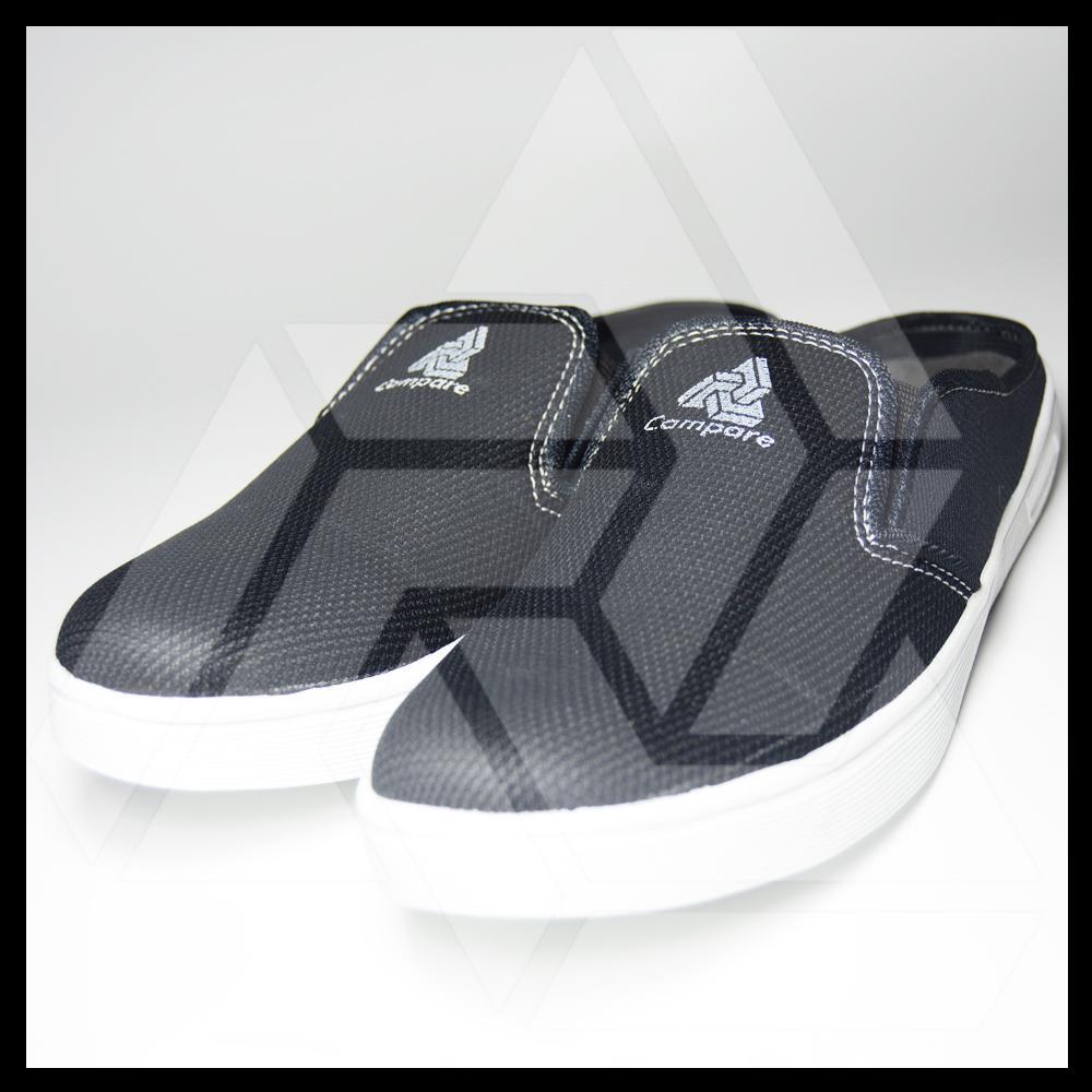 Milenial Sepatu Sneakers Kets Kasual Pria Slip On Campare 005 - 2