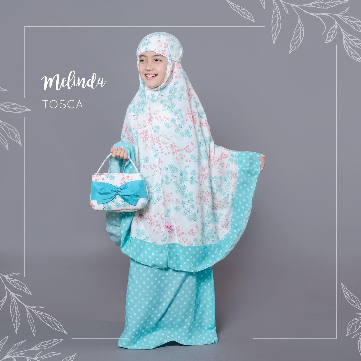 Spesifikasi Mukena Bali Rayon Anak Melinda Tosca Dan Harganya