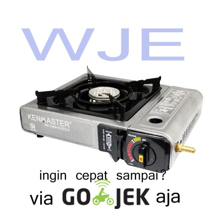Kenmaster Kompor Portable (Camping) - Bisa Gas Kaleng dan Elpiji