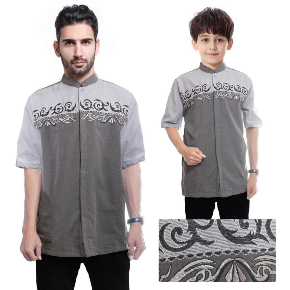 Beli Sb Collection Couple Atasan Baju Muslim Mardy Koko Kemeja Batik Anak Dan Ayah Pria