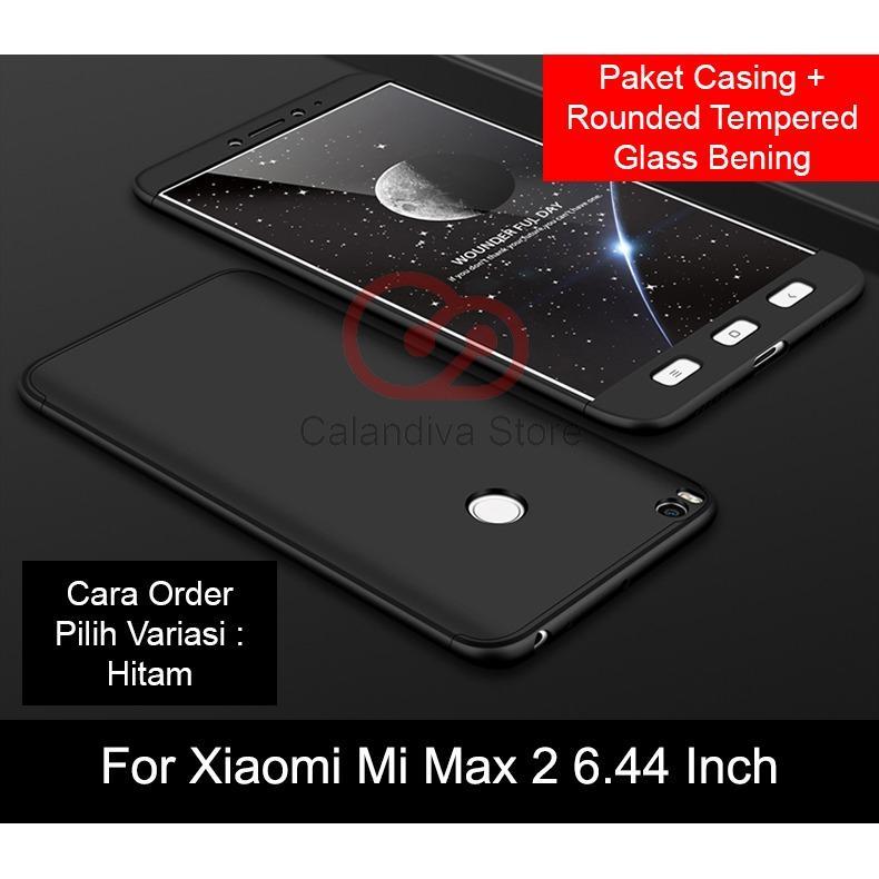 Calandiva Premium Front Back 360 Degree Full Protection Case for Xiaomi MI MAX 2 6.44 Inch
