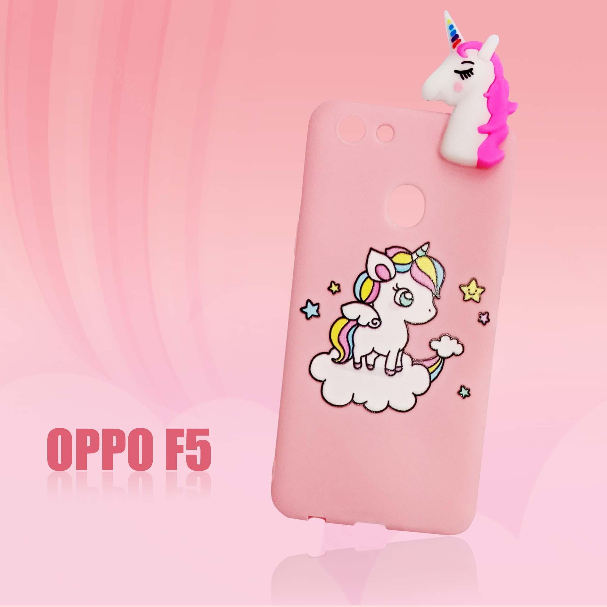 Softcase Unicorn Pinky New For Oppo F5