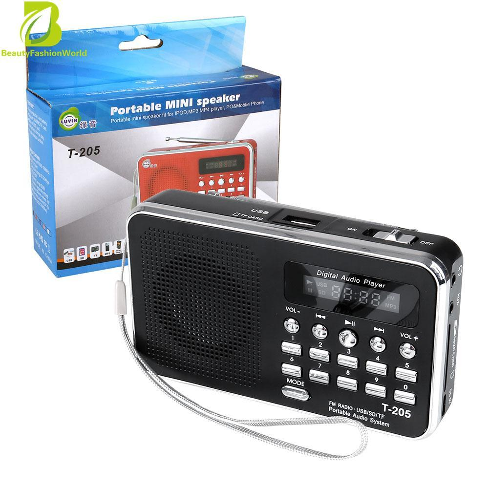 SD/Slot TF USB Line Di Speaker Multimedia Digital MP3 Musik Pengeras Suara Radio FM