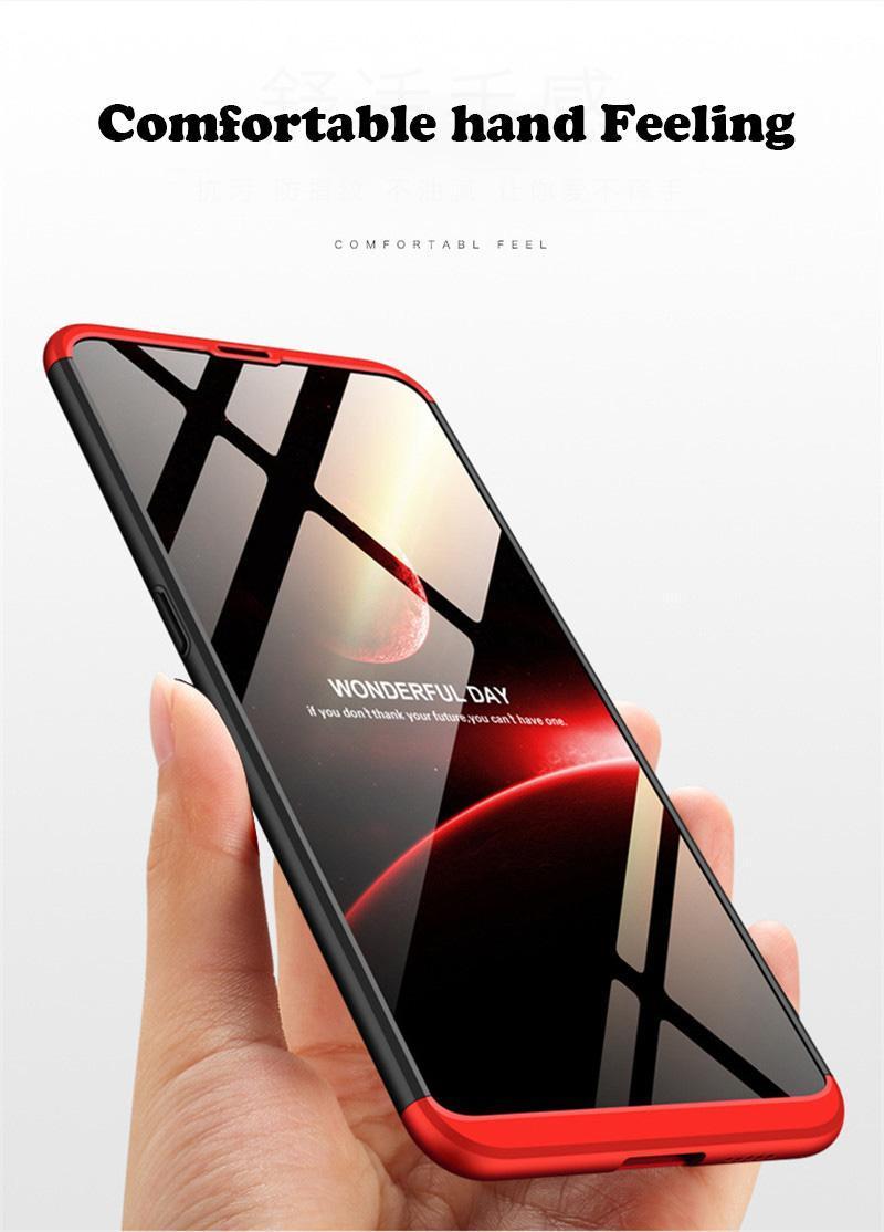 ... Accessories Hp CASE GKK Hardcase 360 Full Protective for Vivo V9 Merah Hitam Free Tempered Glass ...