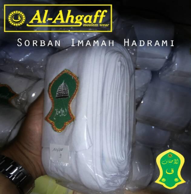 ... Imamah Hadramaut Yaman Sorban Habib 4 Meter (Putih) - 3 ...