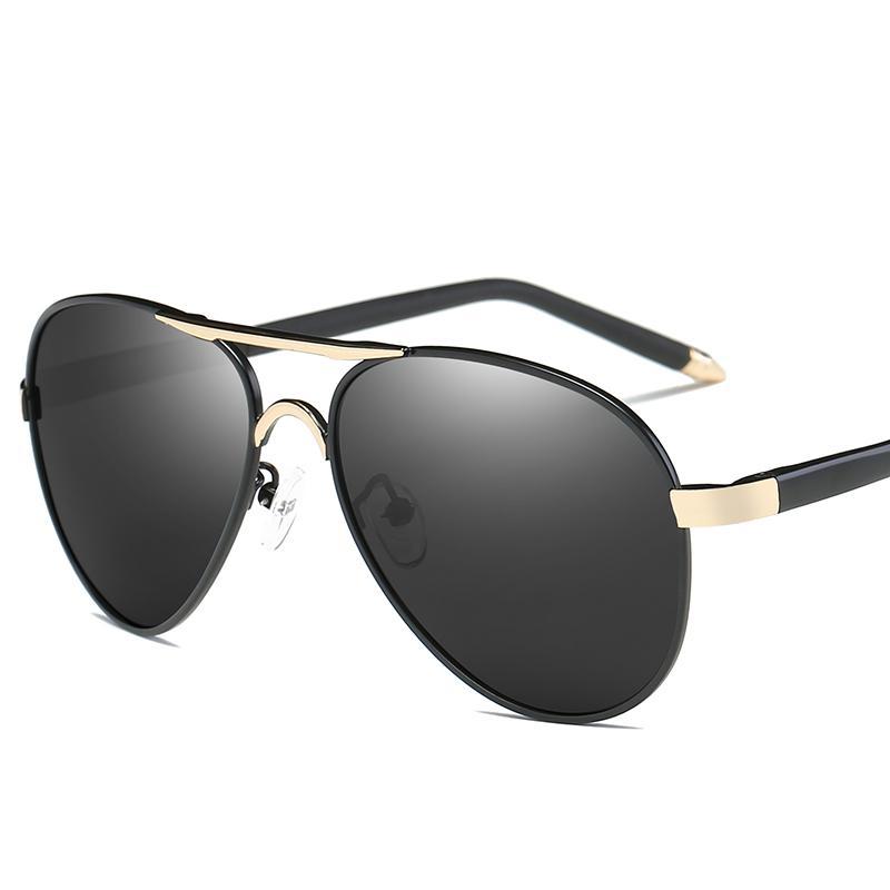 Orang Trendi Kaca Mata Pria Polarisasi Kacamata Hitam Penerbang Karakter Warna Warni