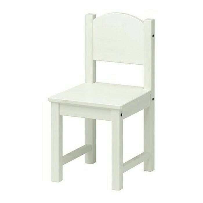 PROMO IKEA SUNDVIK Kursi Anak Kayu, Putih ORIGINAL